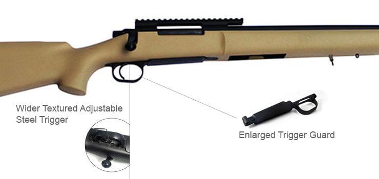 Bolt Action Air Rifle MOD24 (TAN) 136MPS/ 95MPS-Modify Airsoft Guns